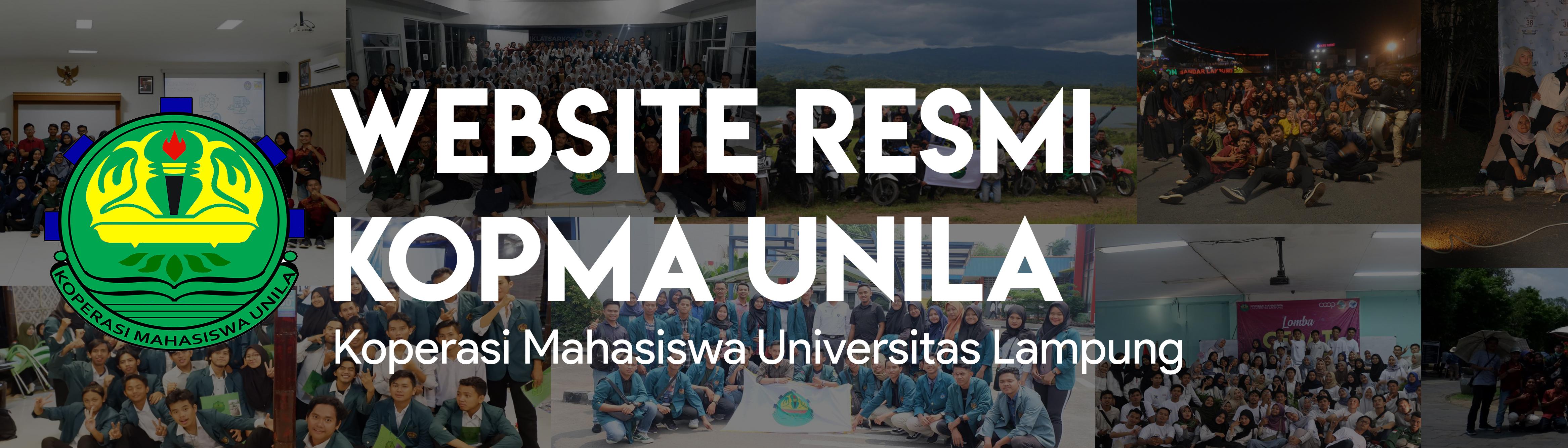 Website Resmi Kopma Unila